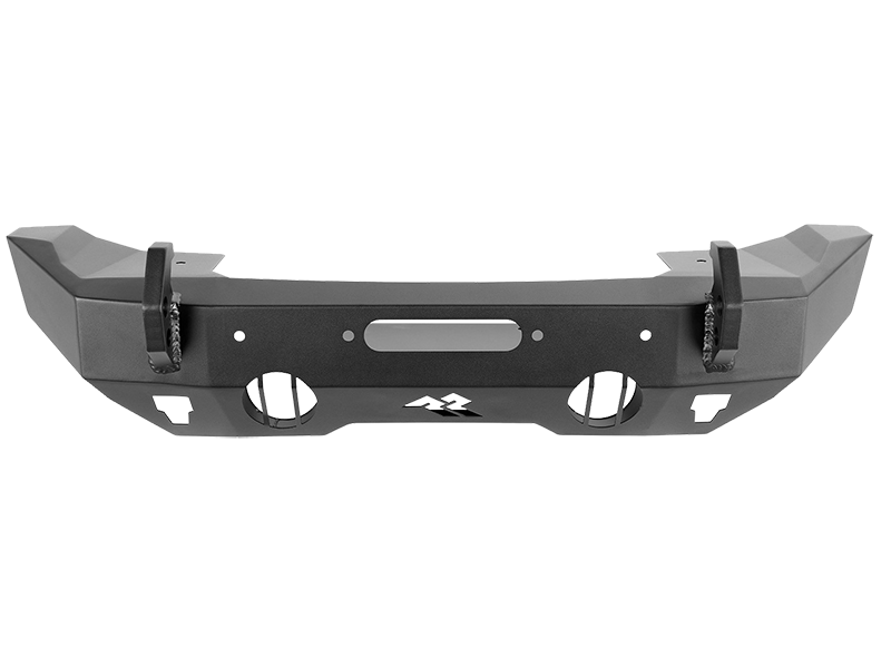RUGGED RIDGE HD Bumper, Stubby, Front, 07-18 Jeep Wrangler JK, 18-up Jeep Wrangler JL and 20-up Jeep Gladiator JT
