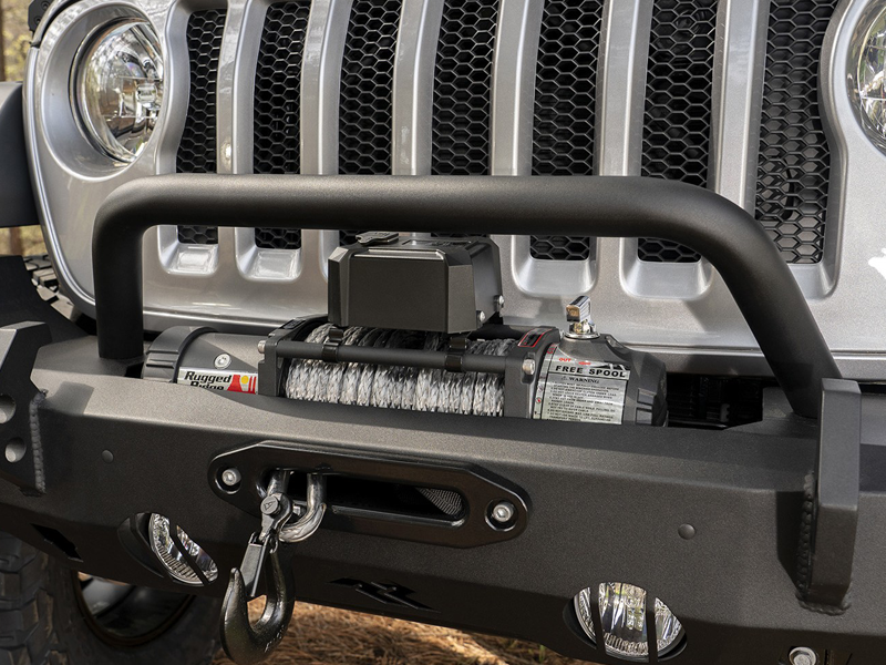 RUGGED RIDGE HD Over-Rider Bar for 07-18 Jeep Wrangler JK, 18-up Jeep Wrangler JL and 20-up Jeep Gladiator JT