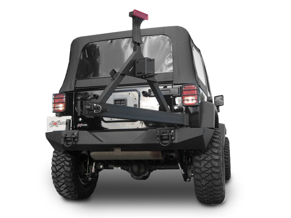 Rugged Ridge Xhd Rear Bumper With Hummer Style Shackles