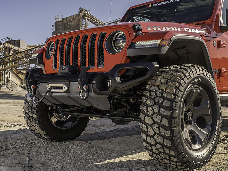 RUGGED RIDGE Venator Front Bumper for 18-up Jeep Wrangler JL & JL Unlimited and 20-up Gladiator JT