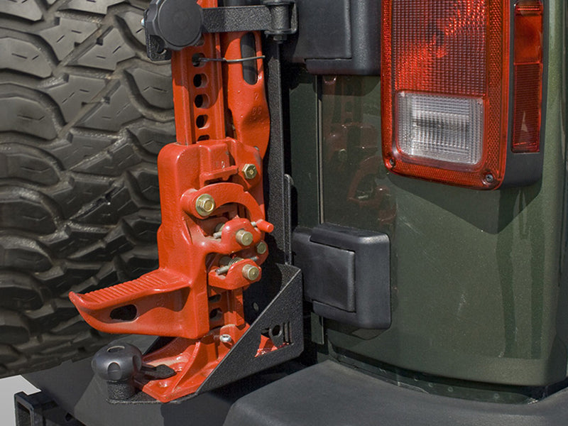 RUGGED RIDGE Off-Road Jack Mount for 07-18 Jeep Wrangler JK & JK Unlimited