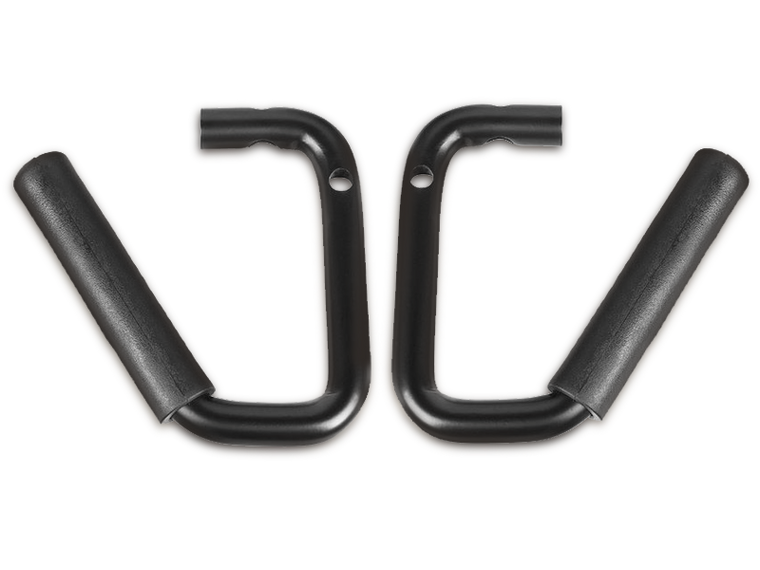 RUGGED RIDGE Grab Bars, Steel, Black, Pair for 07-18 Wrangler JK & JK Unlimited