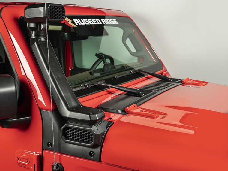 RUGGED RIDGE AMFIB Snorkel System for 18-up Jeep Wrangler JL & JL Unlimited and 20-up Gladiator JT