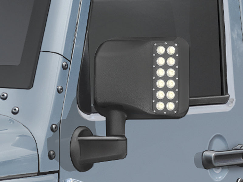 ORACLE LIGHTING LED Side View Mirrors for 07-18 Jeep Wrangler JK