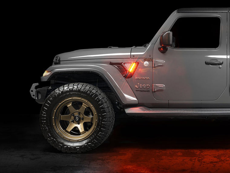 ORACLE Lighting Sidetrack Fender LED Lighting System (Pair) for 18-up Jeep Wrangler JL and 20-up Gladiator JT