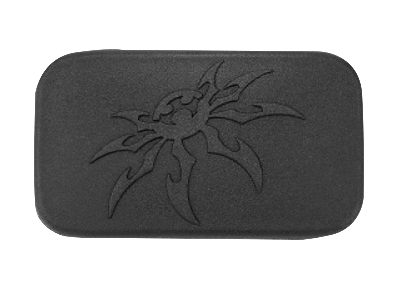 Poison Spyder Rear License Plate Delete Cover For 07 18