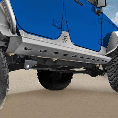 POISON SPYDER Brawler Rockers for 07-18 Jeep Wrangler JK & JK Unlimited