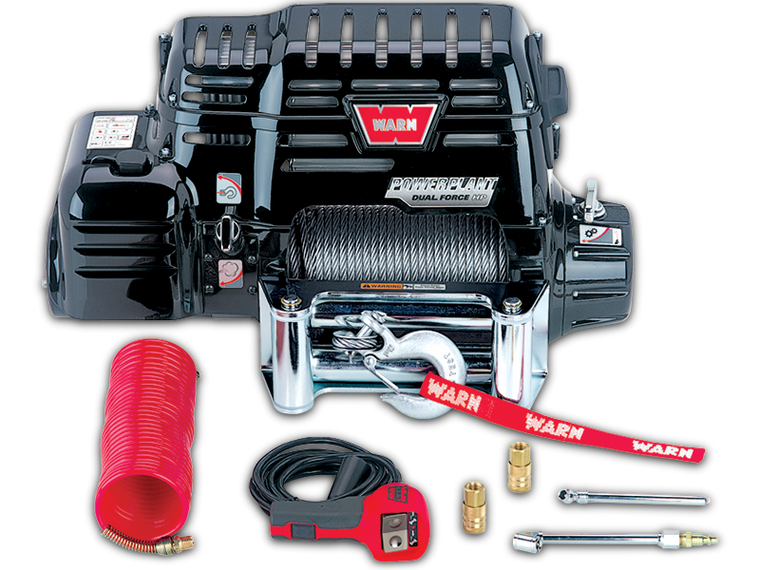 WARN / POWER-PLANT Dual Force Air Compressor and Winch