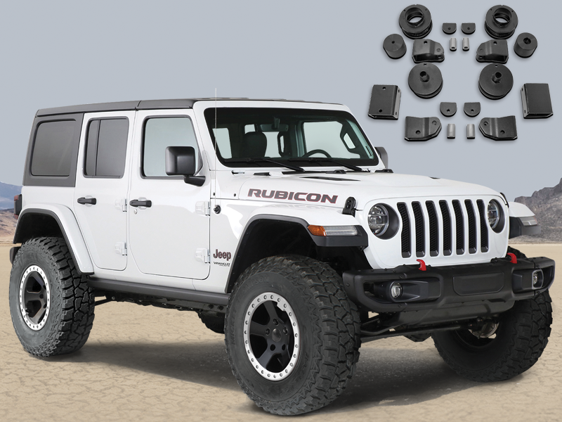 "RUBICON EXPRESS 2"" Economy Lift Kit for 18-up Jeep Wrangler JL & JL Unlimited"