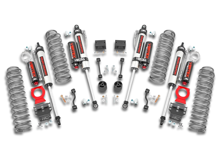 ROUGH COUNTRY 2.5in Jeep Suspension Lift Kit 4-Door Only for 18-up Jeep Wrangler JL Unlimited