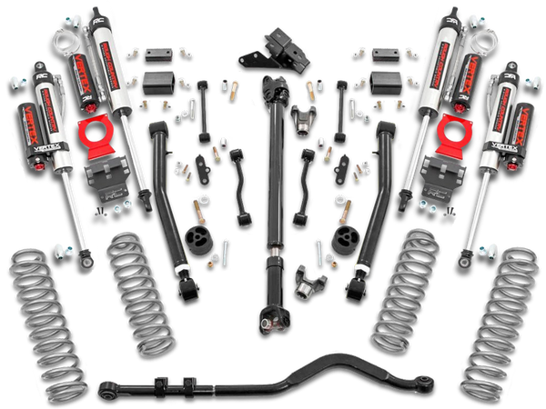 ROUGH COUNTRY 3.5in Jeep Suspension Lift Kit w/ Stage 2