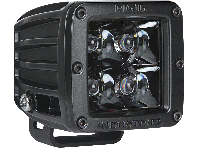 "RIGID 3"" Midnight Spot Lights for 18-up Jeep Wrangler JL & JL Unlimited"