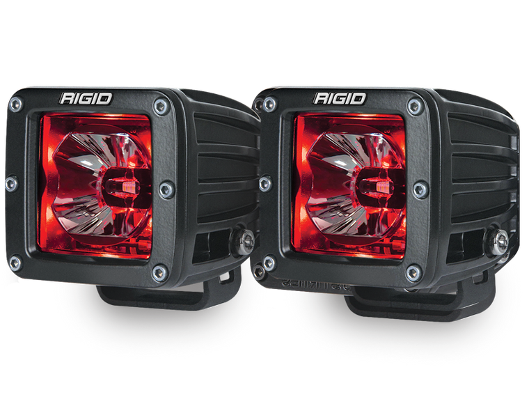 "RIGID 3"" Radiance Pod Lights for 18-up Jeep Wrangler JL & JL Unlimited"