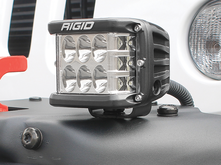 "RIGID 3"" Side Shooter Spot Lights for 18-up Jeep Wrangler JL & JL Unlimited"