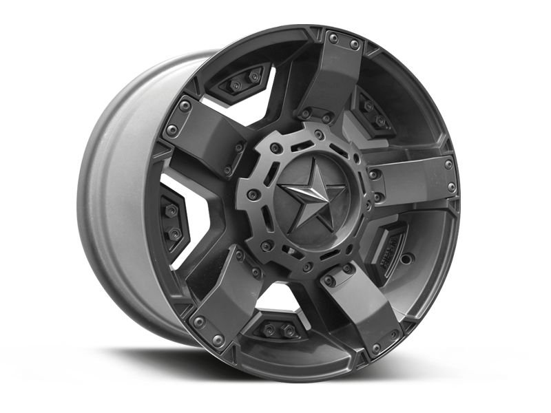 ROCKSTAR II XD 811 Wheel for 07-up Jeep Wrangler JK, JL & Gladiator JT
