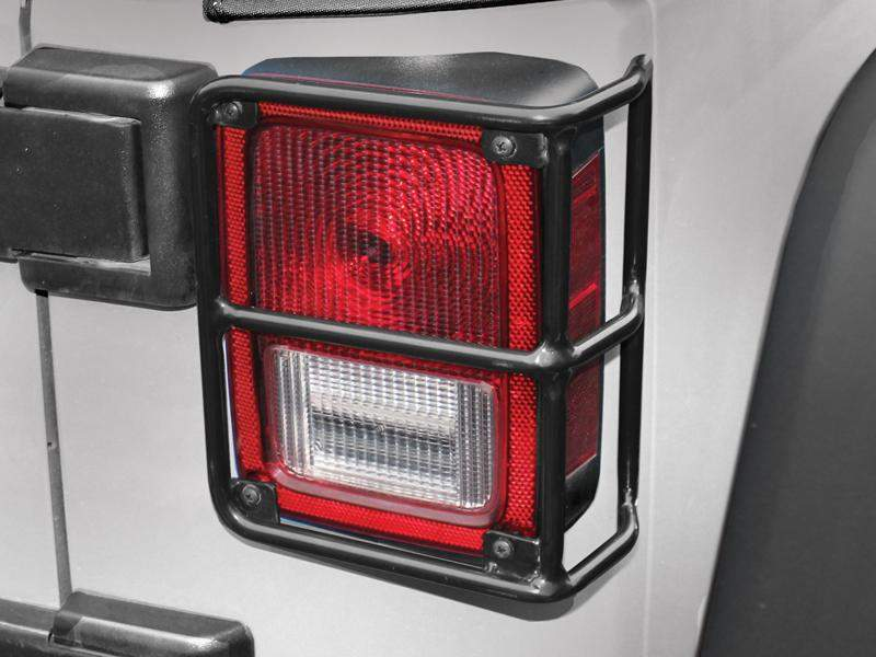 RAMPAGE PPRODUCTS Taillight Guards for 07-18 Jeep Wrangler JK & JK Unlimited