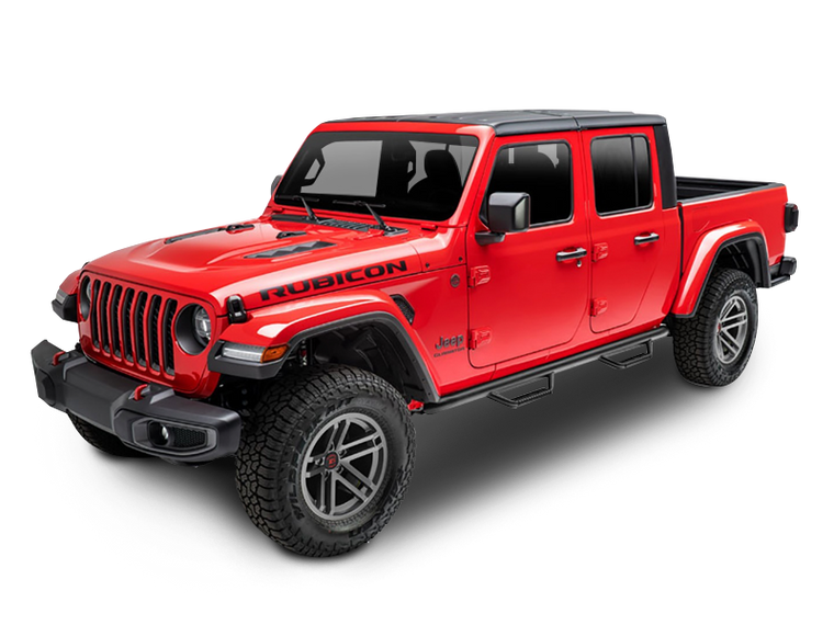 RUGGED RIDGE Spartan Nerf Bars for 20-up Jeep JT Gladiator