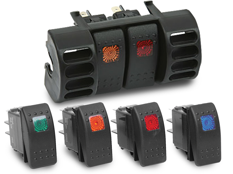 DAYSTAR Rocker Switches for all Jeep Wrangler