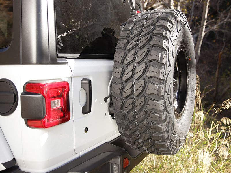 SMITTYBILT Tire Relocation Bracket for 18-up Jeep Wrangler JL and JL Unlimited