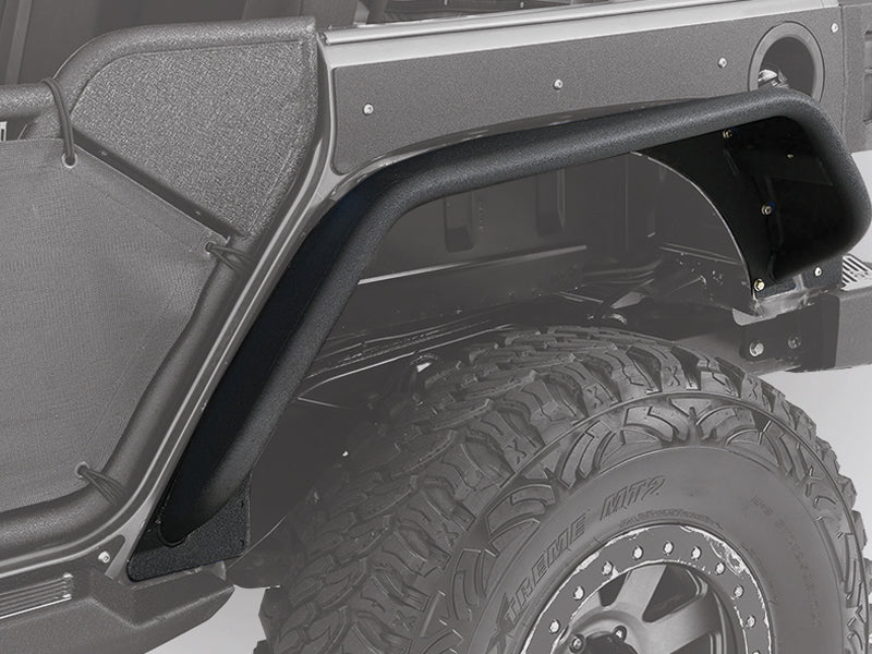 SMITTYBILT XRC Gen2 Fender Skins & Flux Fender Flare Guards for 07-18 Jeep Wrangler JK & JK Unlimited
