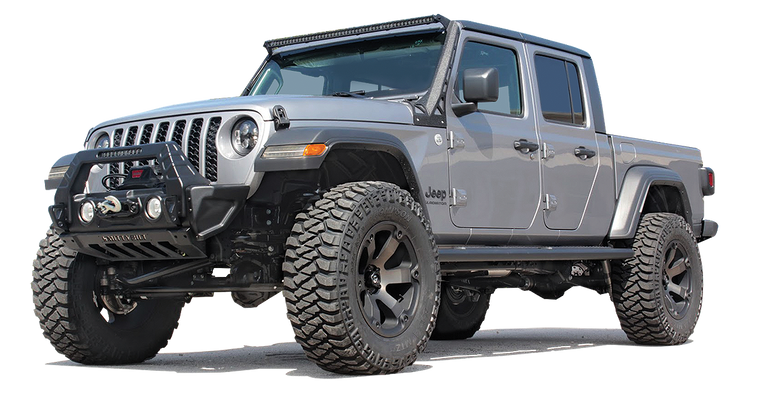 "SMITTYBILT ""STRYKER"" Front Bumper w/ or w/o Wings for 07-up Jeep Wrangler JK, JL and 20-up JT Gladiator"