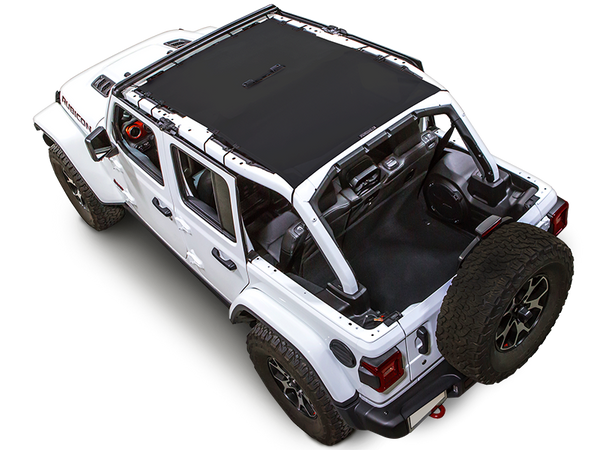 Spiderwebshade Trail Mesh Top 4 Door Only Black For 18