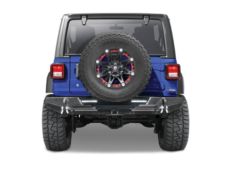 SMITTYBILT Gen2 XRC Rear Bumper for 18-up Jeep Wrangler JL and JL Unlimited