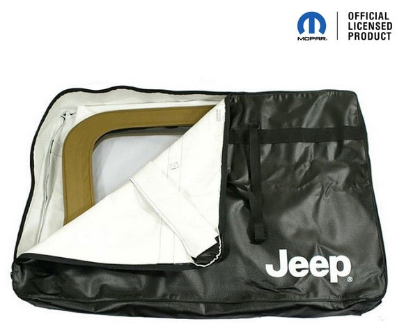 MOPAR Upper Door Storage Bag for 87-95 Jeep Wrangler YJ and 97-06 Jeep Wrangler TJ/LJ