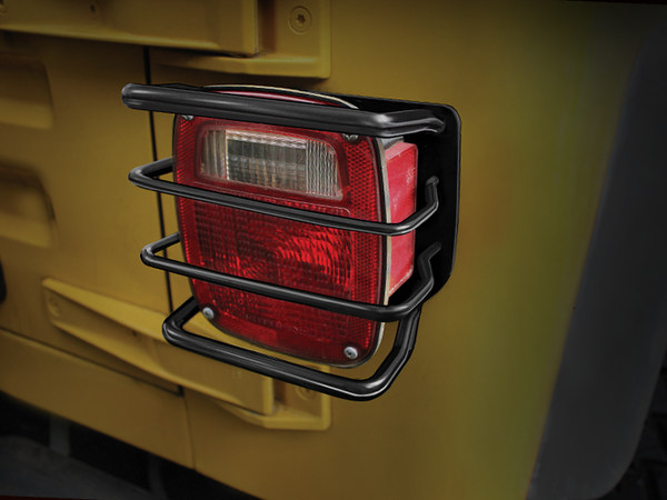 Rugged Ridge Rear Euro Tail Light Guards For 76 06 Jeep Cj