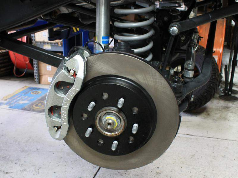 TERAFLEX Complete Big Brake Kits for 07-18 Jeep Wrangler JK & JK Unlimited
