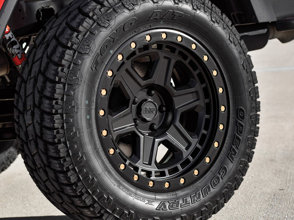 "BLACK RHINO ""RENO"" Wheel for 07-up Jeep Wrangler JK, JL & Gladiator JT"