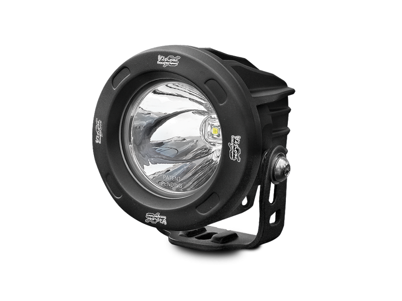 "VISION-X 3.25"" Optimus Driving Lights Black for 18-up Jeep Wrangler JL & JL Unlimited"