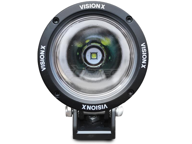 "VISION X Lighting 4.5"" Cannon LED Driving Light with Black Die-Cast Aluminum Housing"