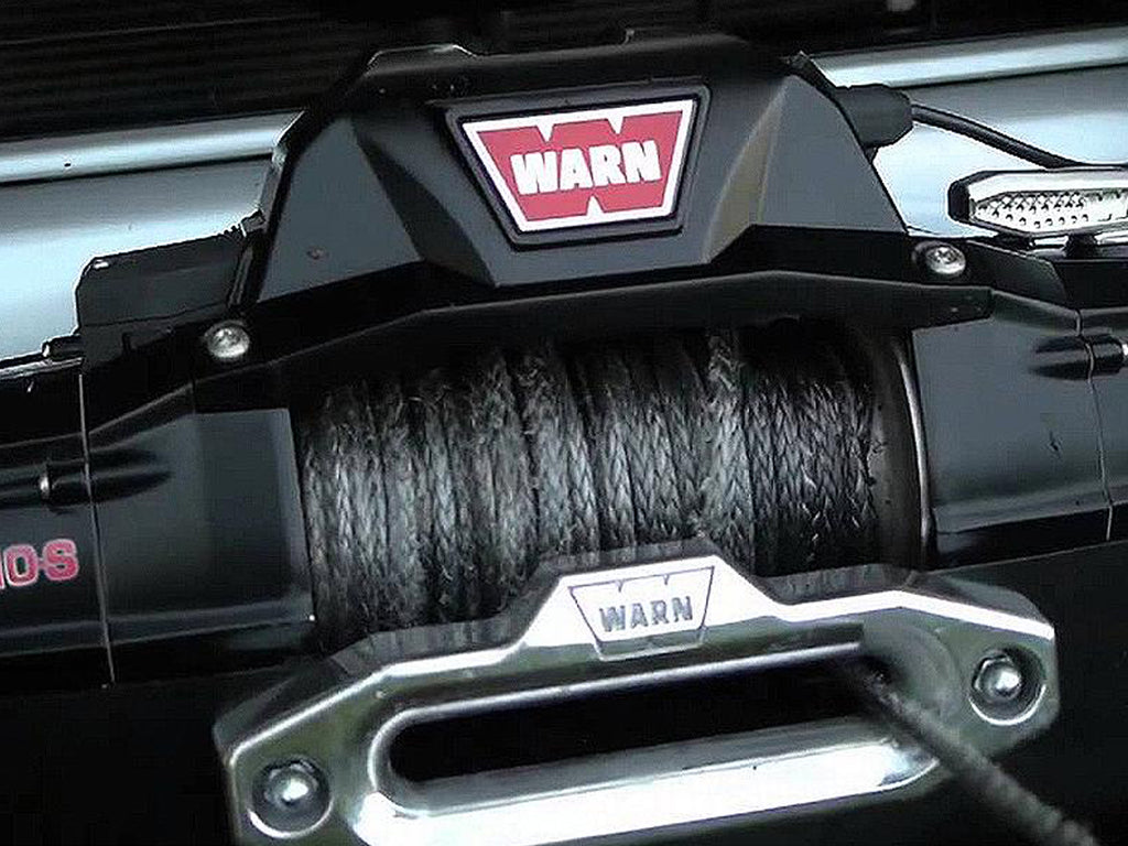 WARN ZEON Winch with Synthetic Rope or Steel Cable