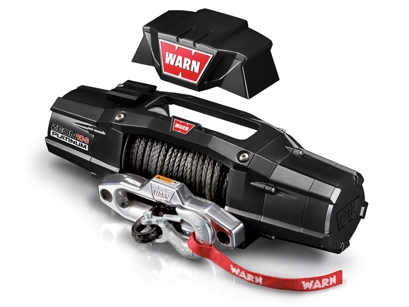 WARN ZEON Platinum™ Winch with Synthetic Rope or Steel Cable
