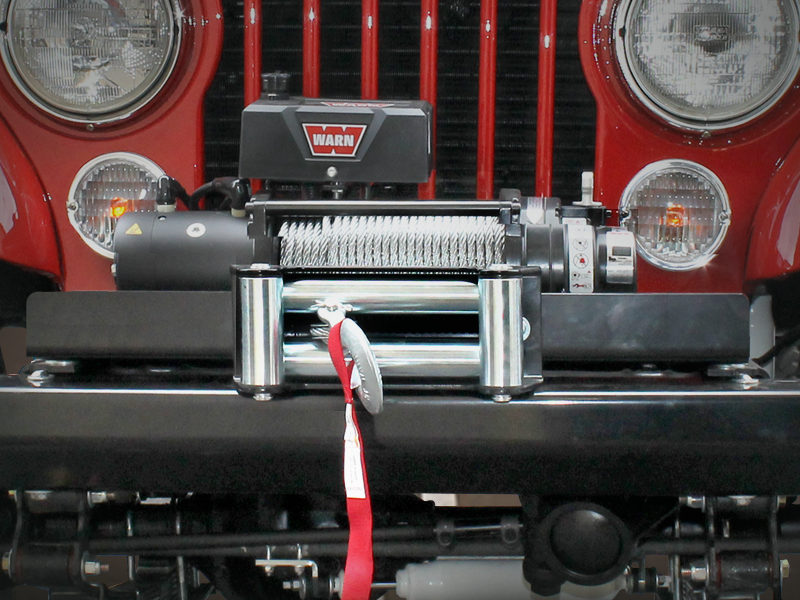 WARN Winch Mounting Kit for 76-86 Jeep CJ