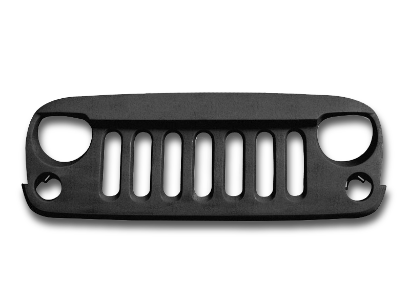 Wild Boar Front Grill, ABS for 07-18 Jeep Wrangler JK & JK Unlimited