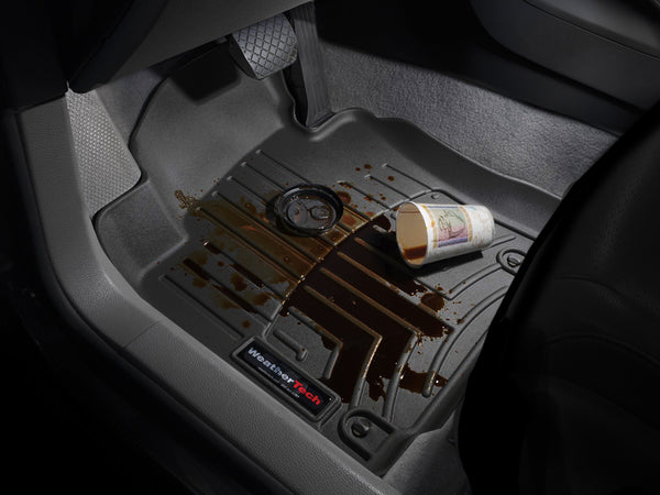 Weather Tech Floor Liners In Black Front Pair For 18 Up