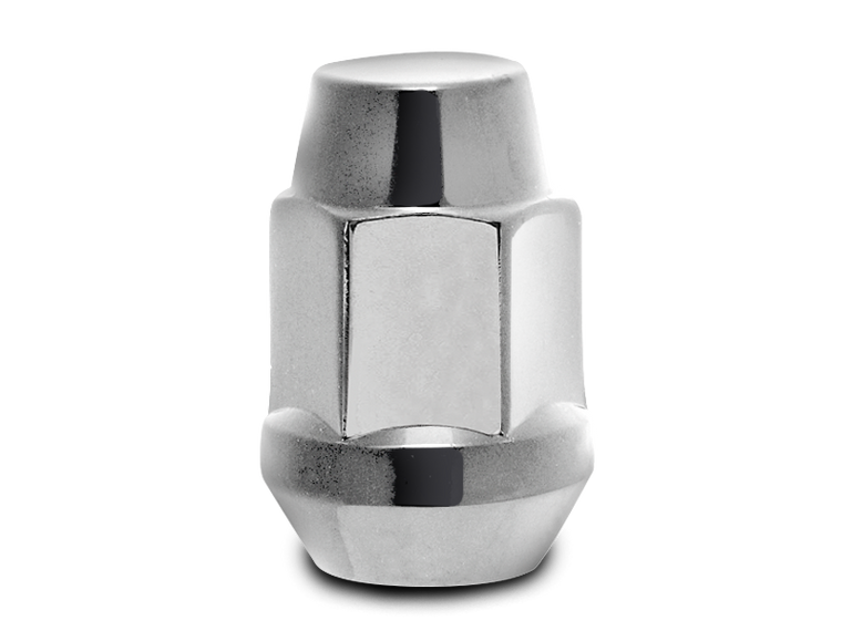 "Lug Nut 1/2"" x 20 with 3/4"" Hex Head (1.4"" L) for 76-18 Jeep CJ, Wrangler YJ, TJ & JK"