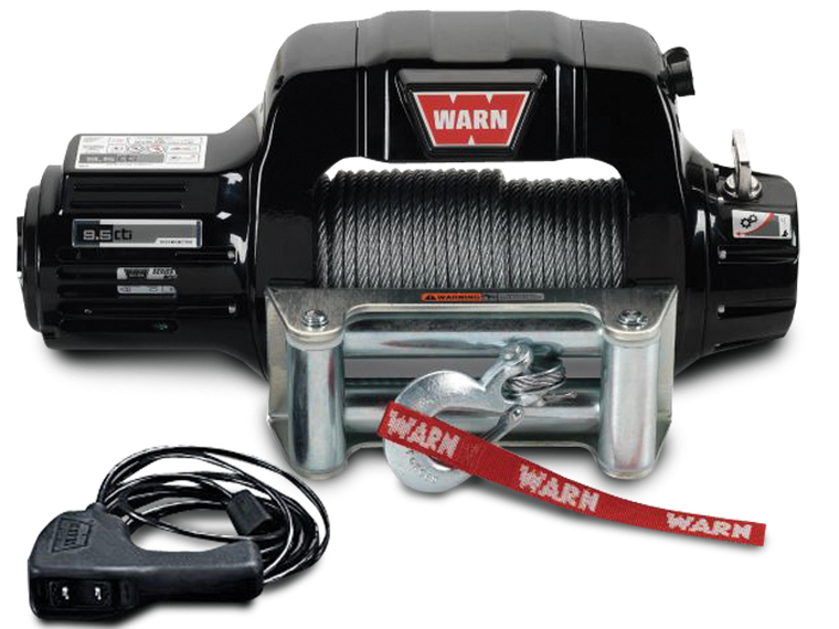 WARN 9.5cti Contactor Winch with Synthetic Rope or Steel Cable