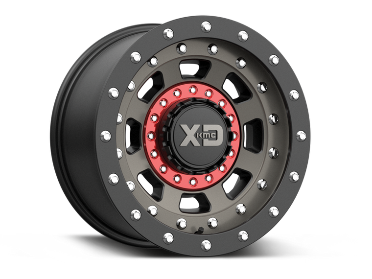 "XD137 ""FMJ"" Wheel for 07-up Jeep Wrangler JK, JL & JT Gladiator"