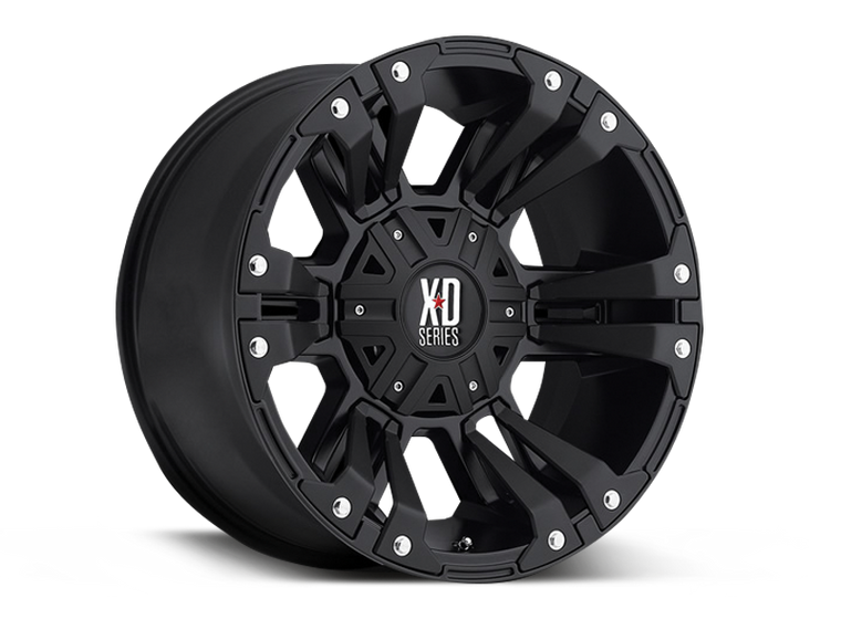 XD 822 MONSTER II Wheel for 07-up Jeep Wrangler JK, JL & Gladiator JT