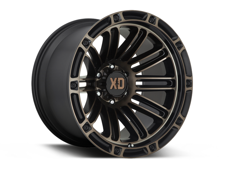 "XD 846 ""DOUBLE DEUCE"" Wheel for 07-up Jeep Wrangler JK, JL & JT Gladiator"