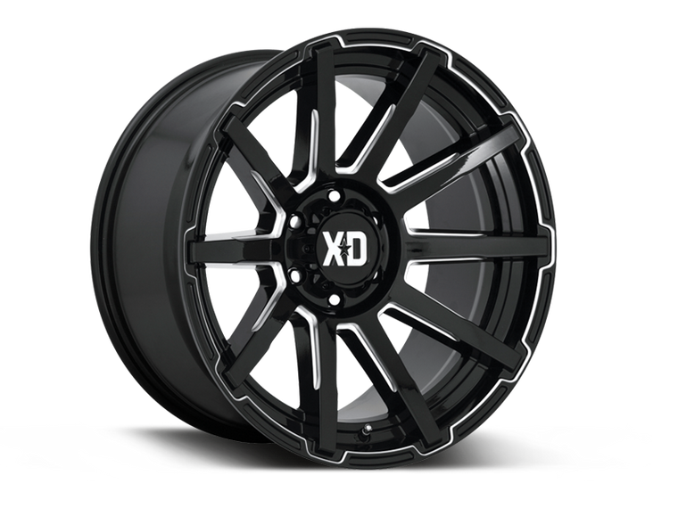 "XD847 ""OUTBREAK"" Wheel for 07-up Jeep Wrangler JK, JL & JT Gladiator"