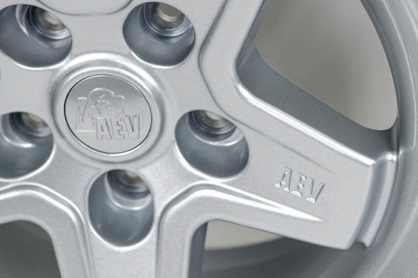 Aev Pintler Wheel Silver 17x8 5 5x5 10mm Offset For 07 18 Jeep Wr Fortec4x4