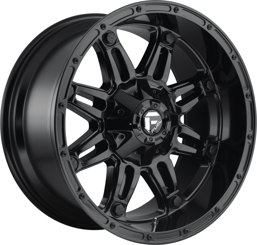 "FUEL D625 ""HOSTAGE"" Wheel in Gloss Black for 07-up Jeep Wrangler JK, JL & JT Gladiator"