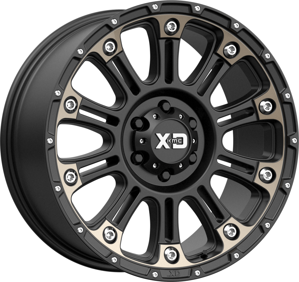 "XD829 ""HOSS 2"" Wheel for 07-up Jeep Wrangler JK, JL & JT Gladiator"