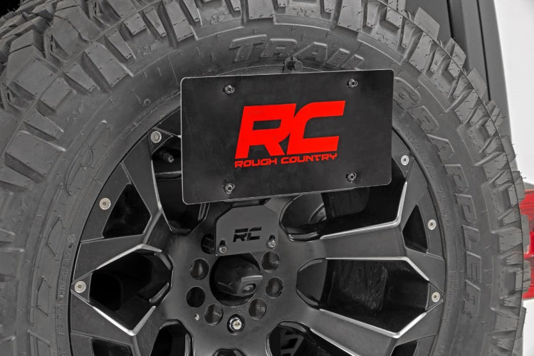 RCS License Plate Adapter for 18-up Jeep Wrangler JL & JL Unlimited