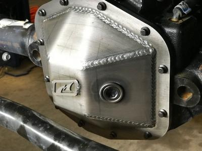 MOTOBILT Dana 44 Differential Cover for Rubicon 18-up Jeep Wrangler JL & 20-up Jeep Gladiator JT