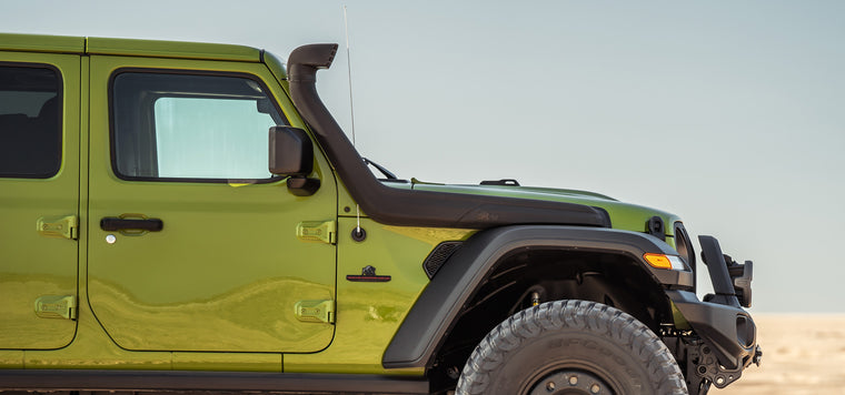 AEV Snorkel for 18-up Jeep Wrangler JL & 20-up Gladiator JT